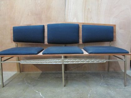 Excellent 3 Seat Bench Seat And Back Cushions Church Inventory Gmtry Best Dining Table And Chair Ideas Images Gmtryco